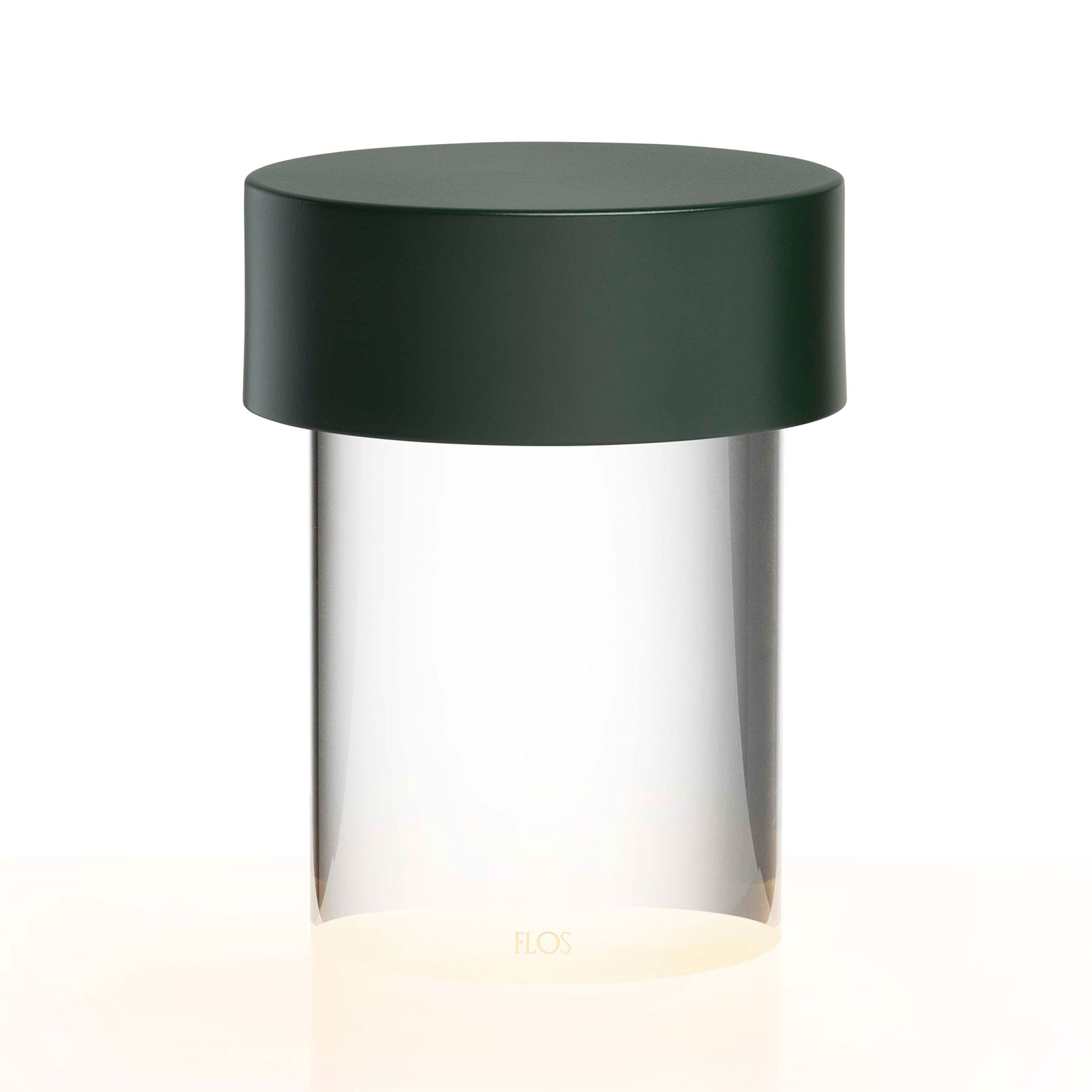 FLOS Last Order LED-Tischlampe klar IP55 grün