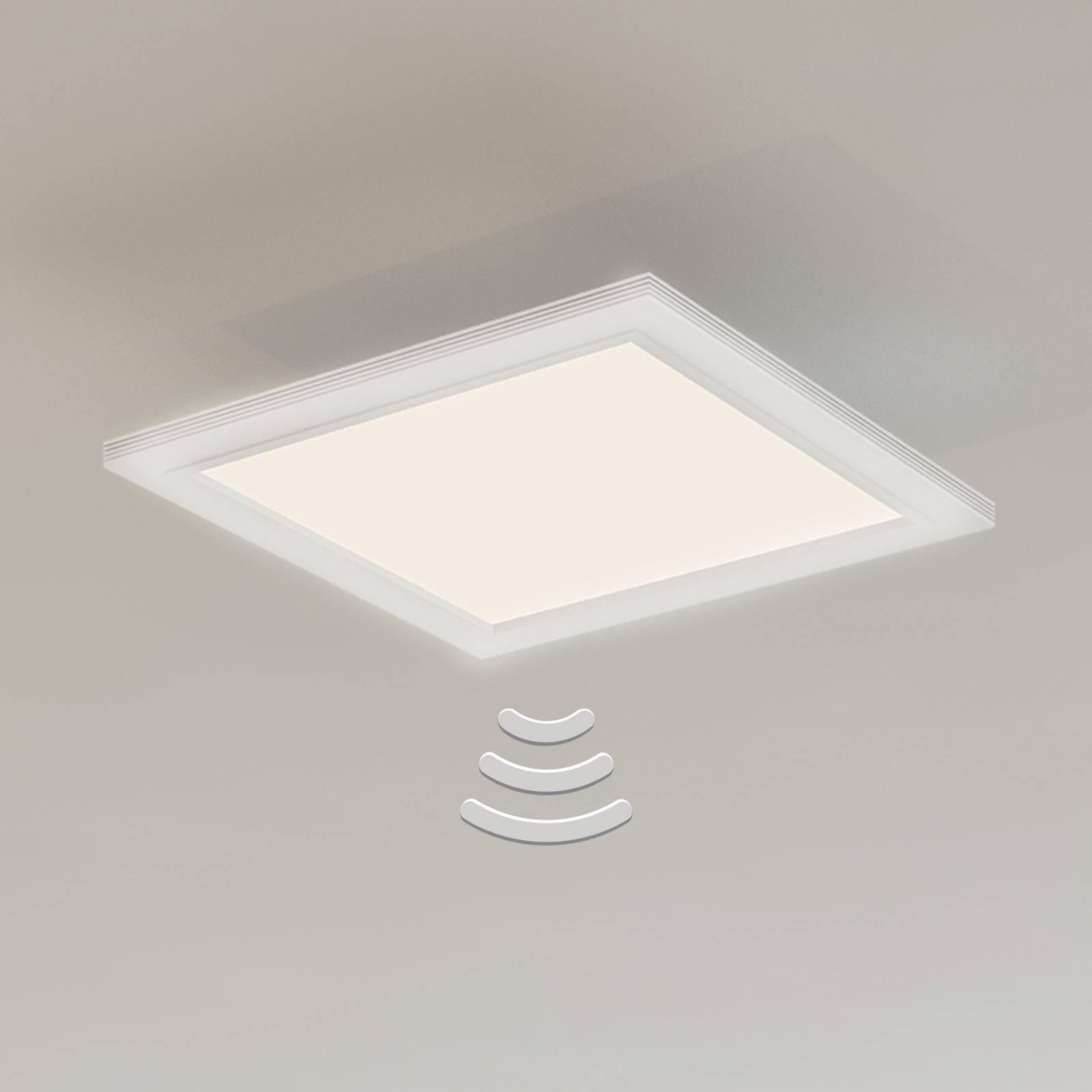 Lampa sufitowa LED 7187-016, czujnik, 29,5x29,5cm