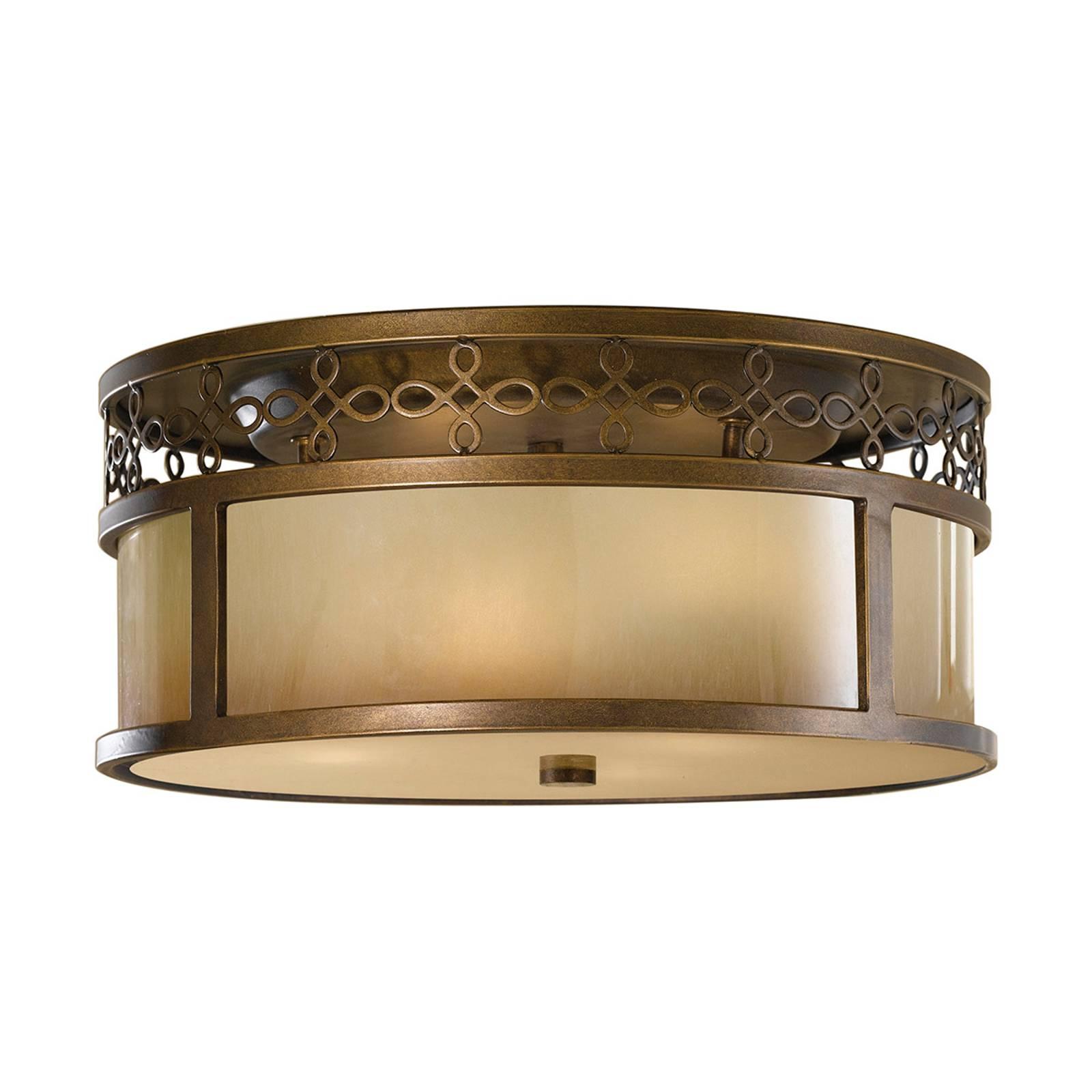 Antieke plafondlamp Justine