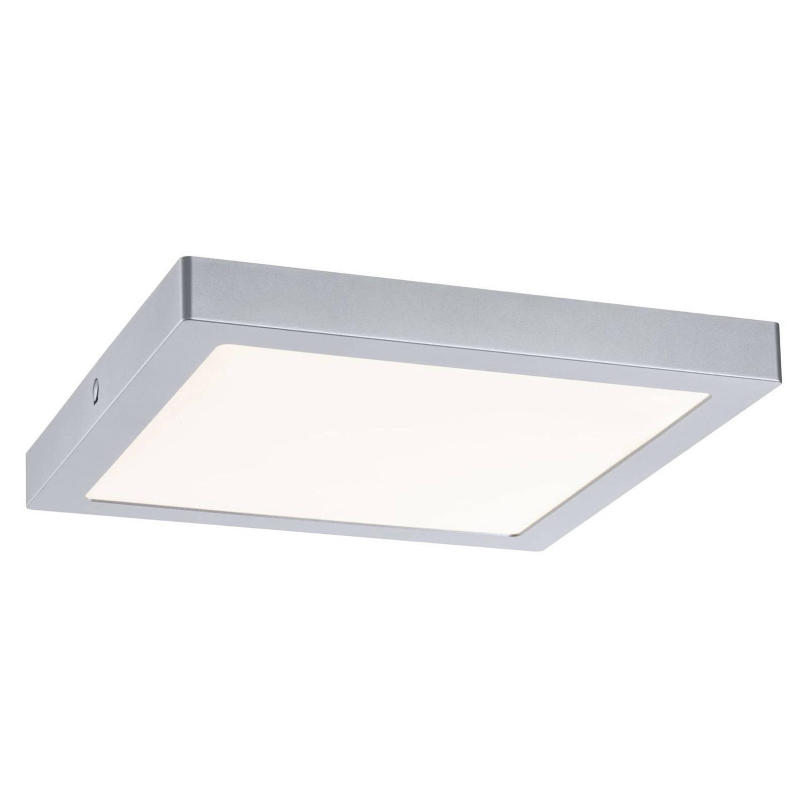 Paulmann Abia LED-Deckenleuchte 30x30 cm chrom