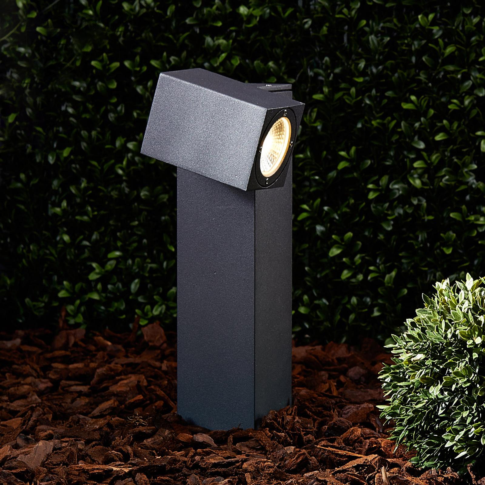 Lampione regolabile Lorik, a LED