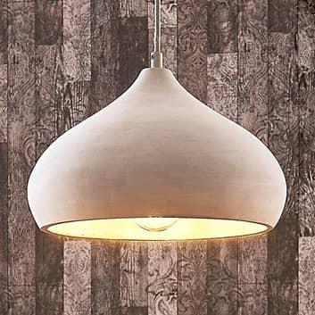 Hermosa lámpara colgante de hormigón Morton