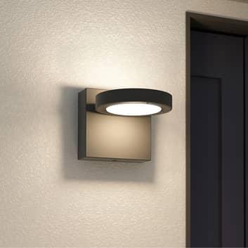 Lucande Belna utendørs LED-vegglampe, grafittgrå