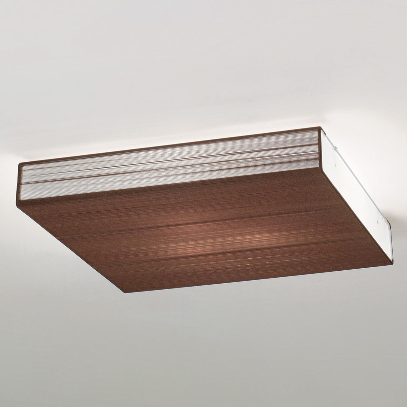 Axolight Clavius plafondlamp 60 cm tabak