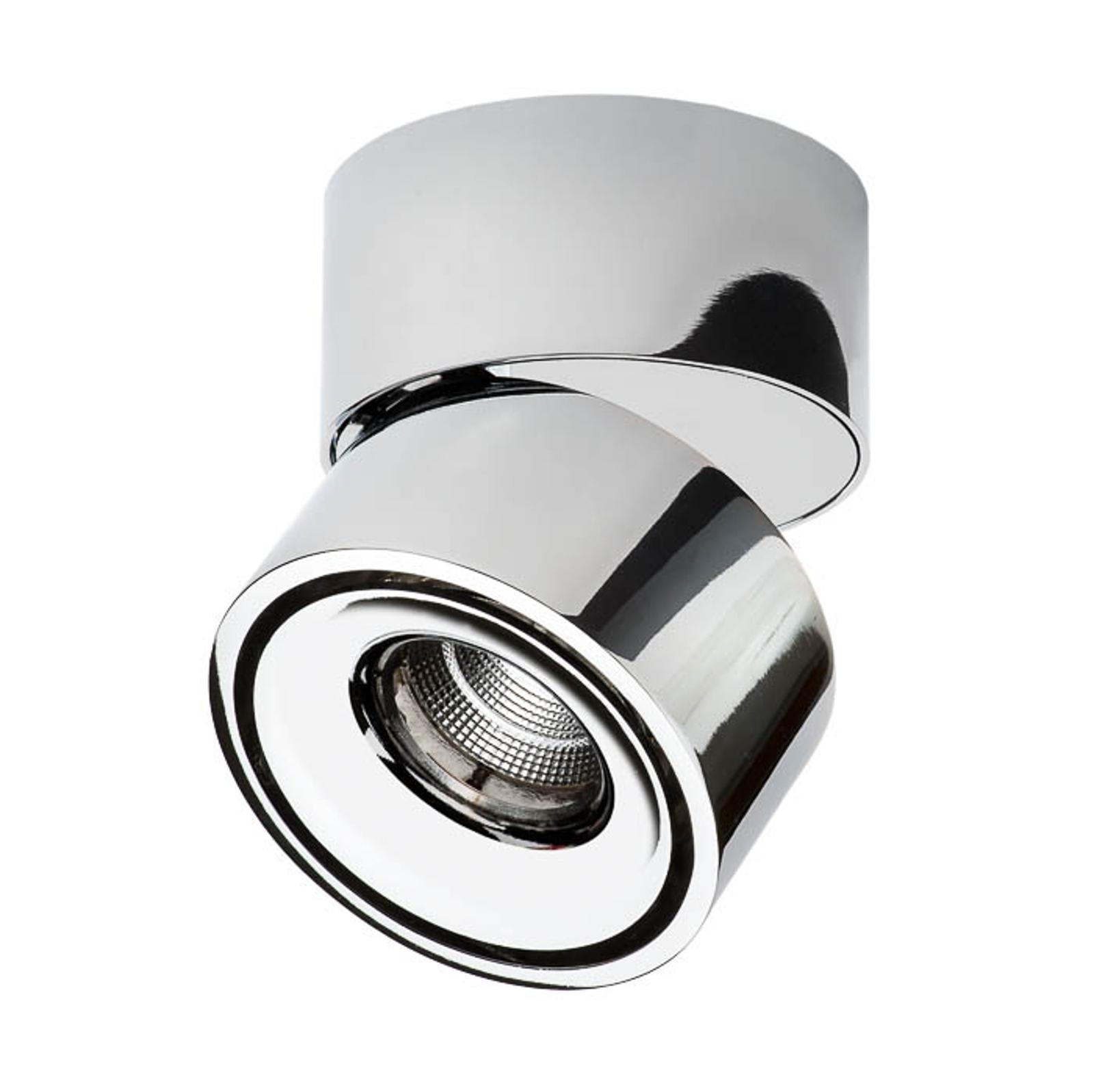 Decor Walther Studio LED-Deckenspot chrom, Ø 10cm
