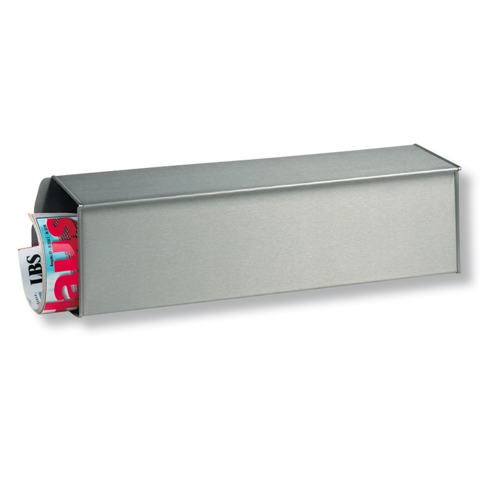 Caja de periódicos de acero inoxidable 3808