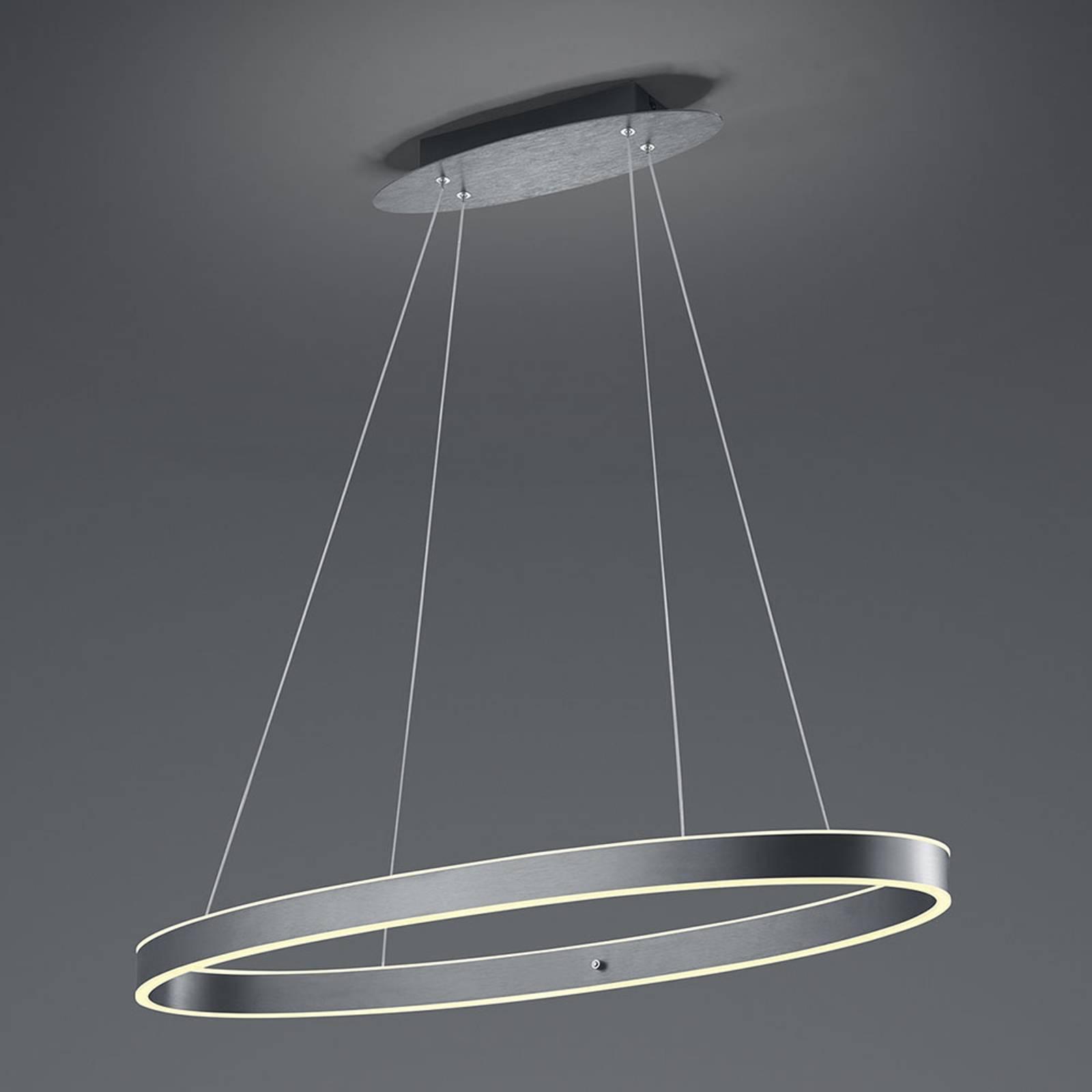 B-Leuchten Delta LED hanglamp, antraciet
