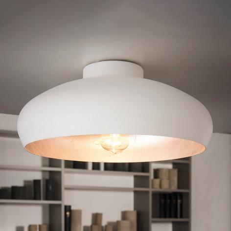 Deckenlampe Mogano aus Metall, weiß