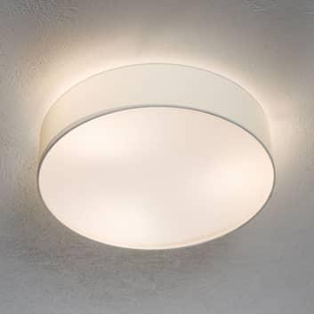 Pasteri - strop. světlo zářivě bílá tkanina 57 cm