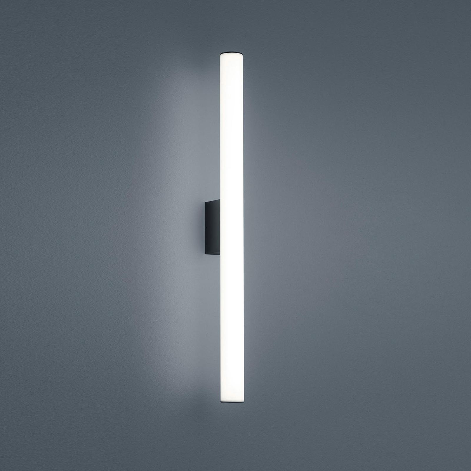 Helestra Loom -peililamppu, musta 60 cm