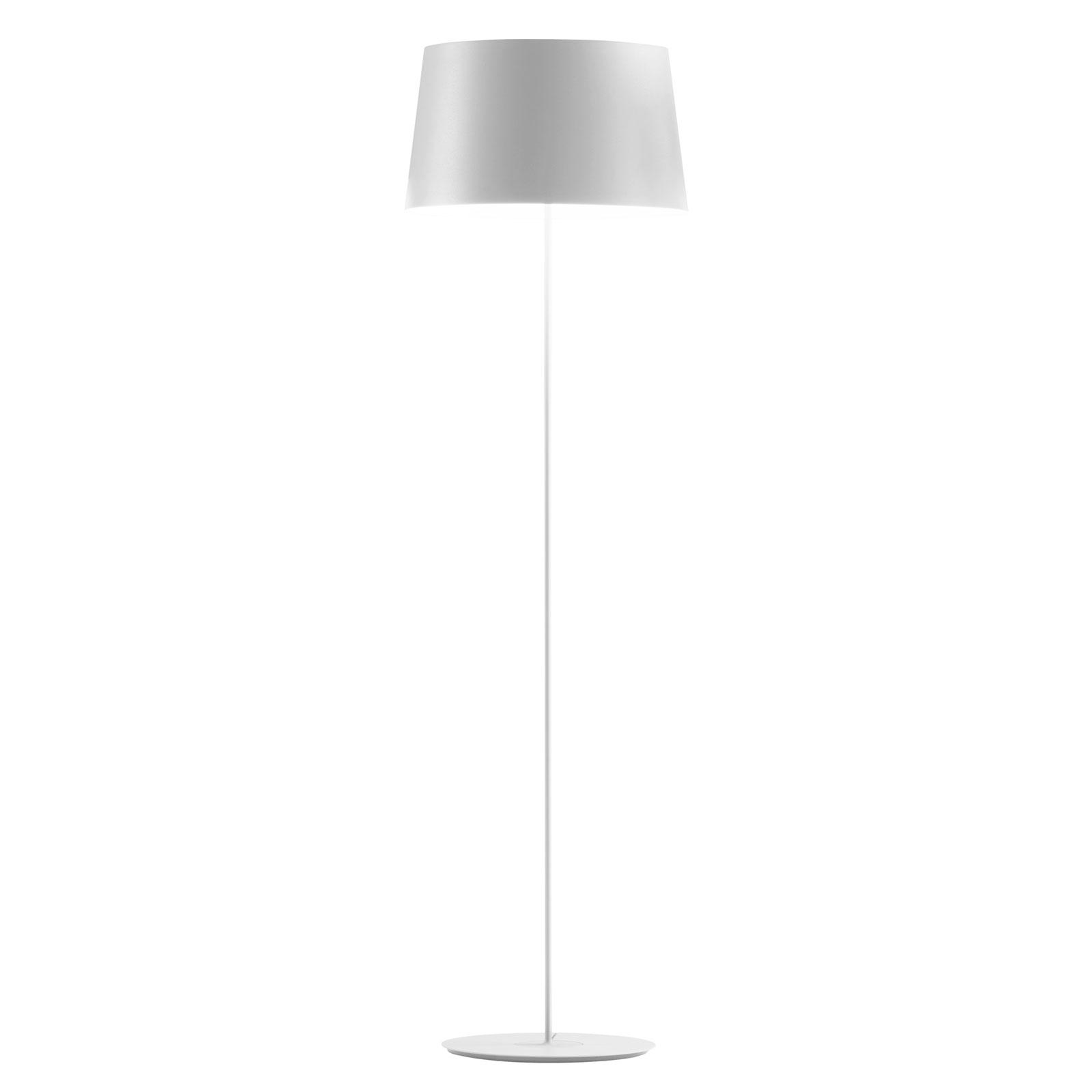 Vibia Warm 4906 design vloerlamp, wit