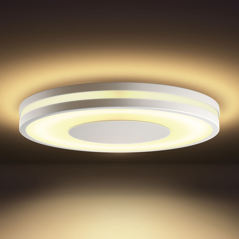 Philips Hue White Ambiance Being taklampe hvit