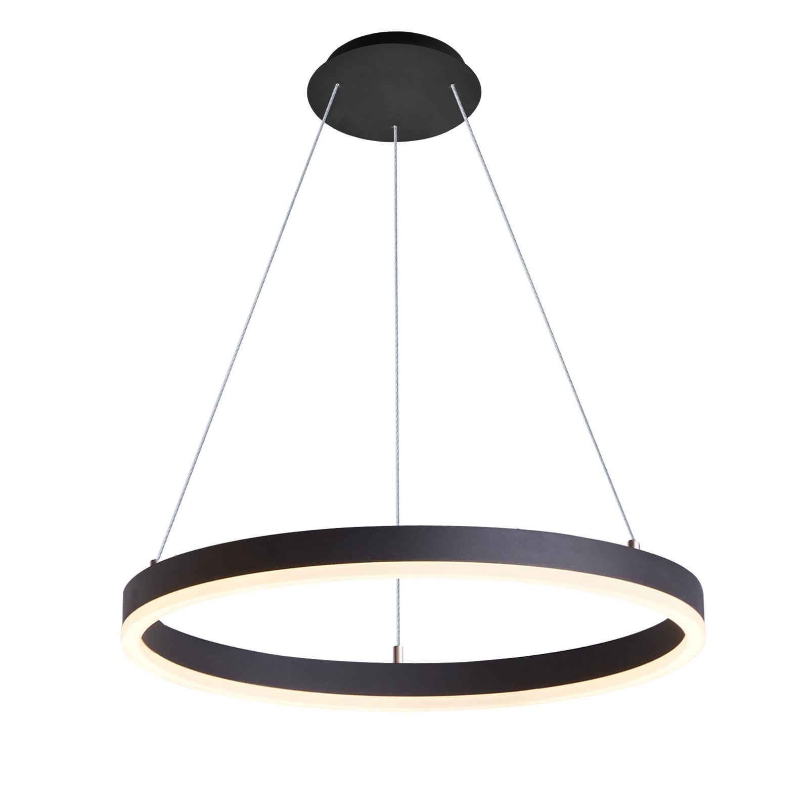 Arcchio Albiona LED závěsné světlo, 1 kruh, 60 cm