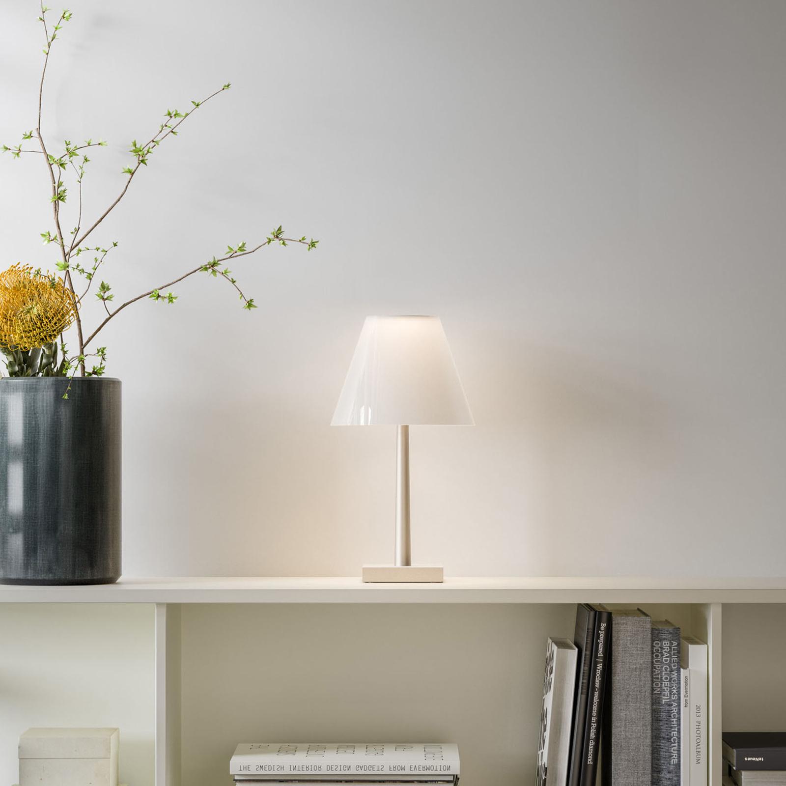 Rotaliana Dina T1 LED-Tischleuchte weiß/weiß