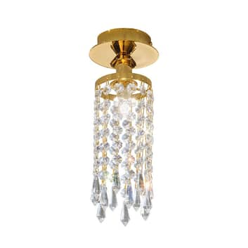 KOLARZ Charleston Deckenlampe Kristall, Ø 10cm