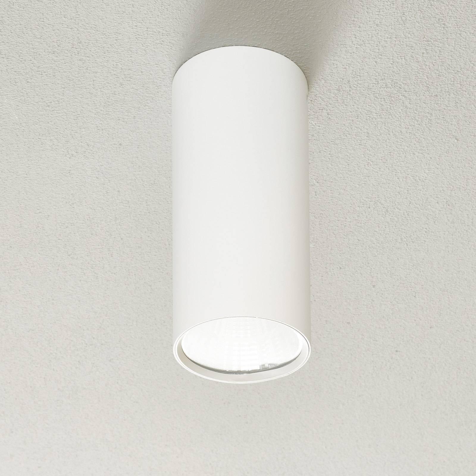 Lucande Takio downlight LED 2700K Ø10cm blanc
