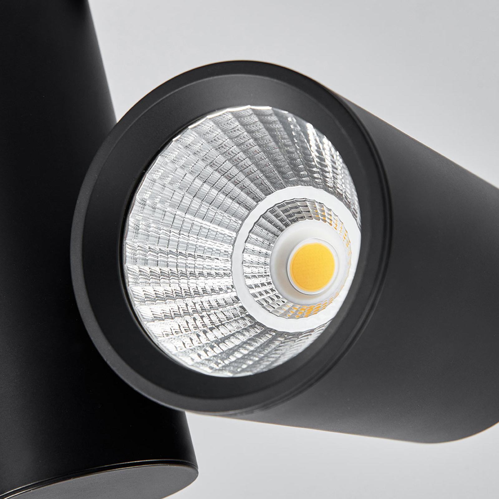 Svart LED spot Giol til skinnesystem | Lampegiganten.no