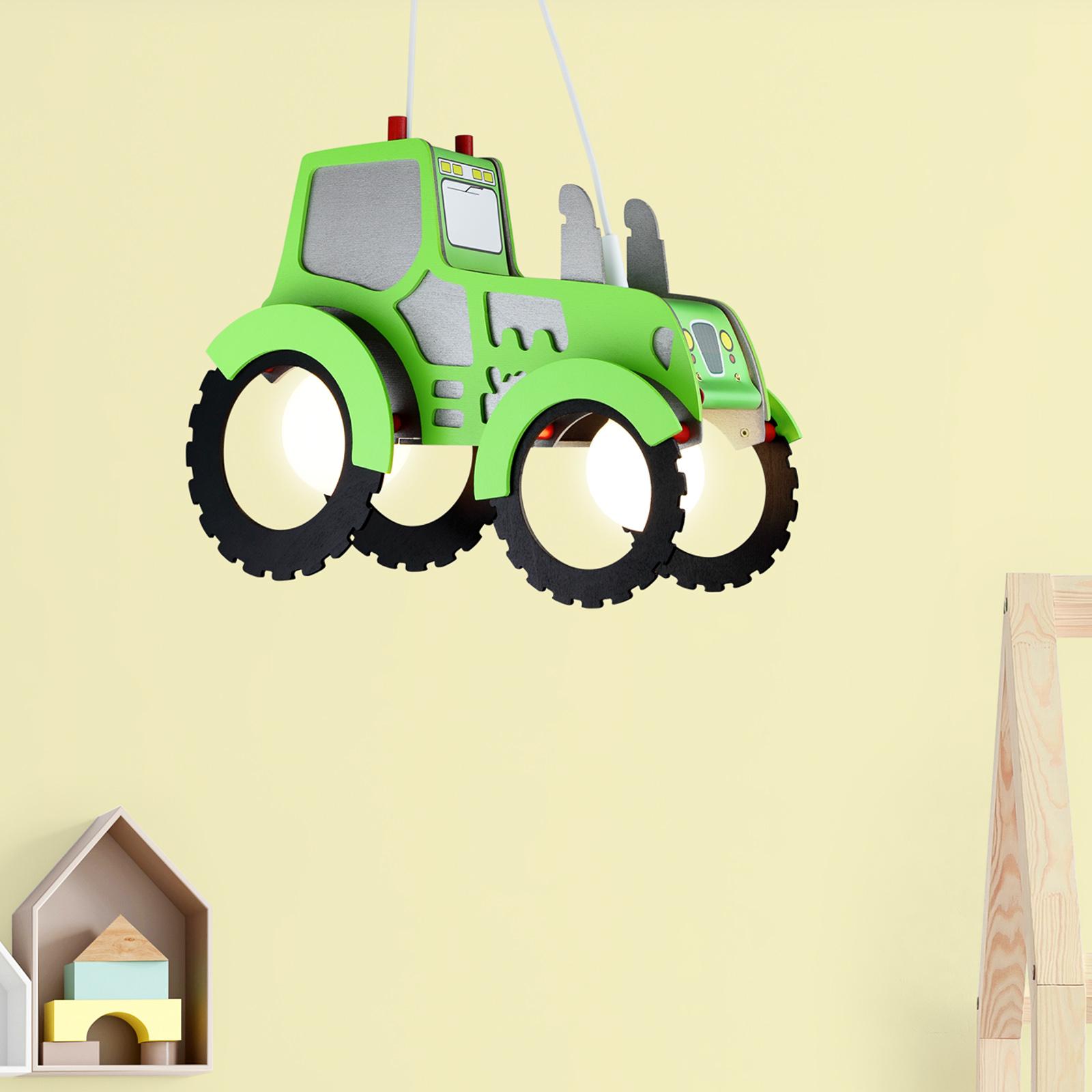 Lampa wisząca Traktor do pokoju dziecięcego