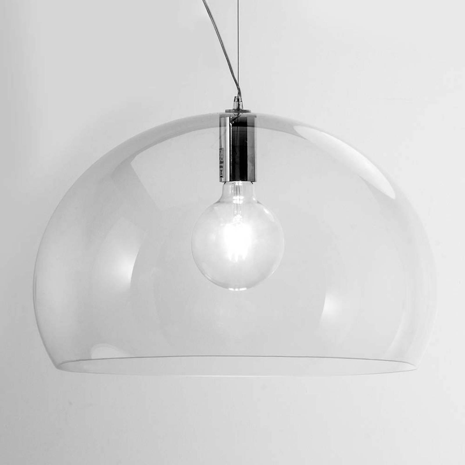 Kartell Big FL/Y - lampa wisząca LED przezroczysta