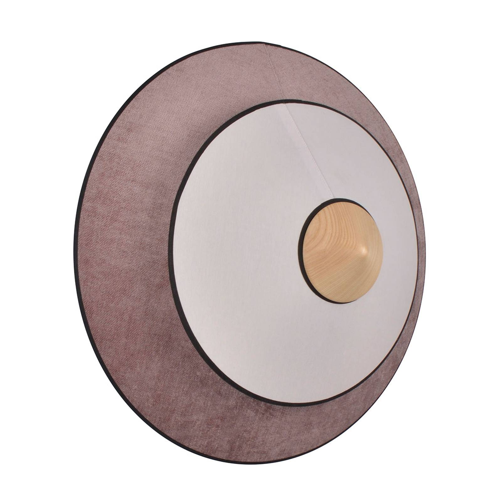 Forestier Cymbal S LED-Wandleuchte, puderrosa