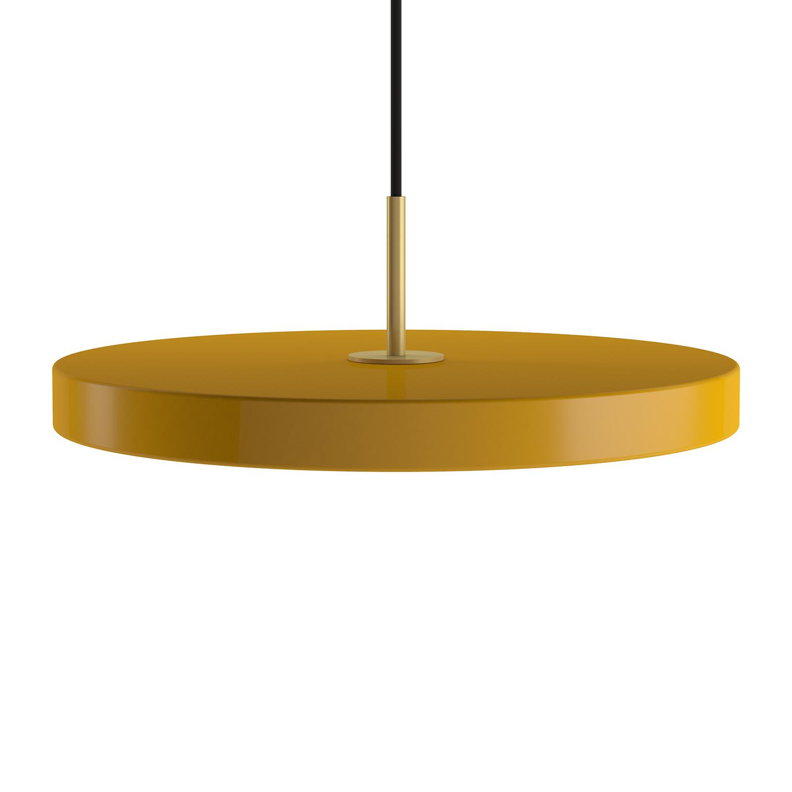 UMAGE Asteria mini suspension laiton jaune safran