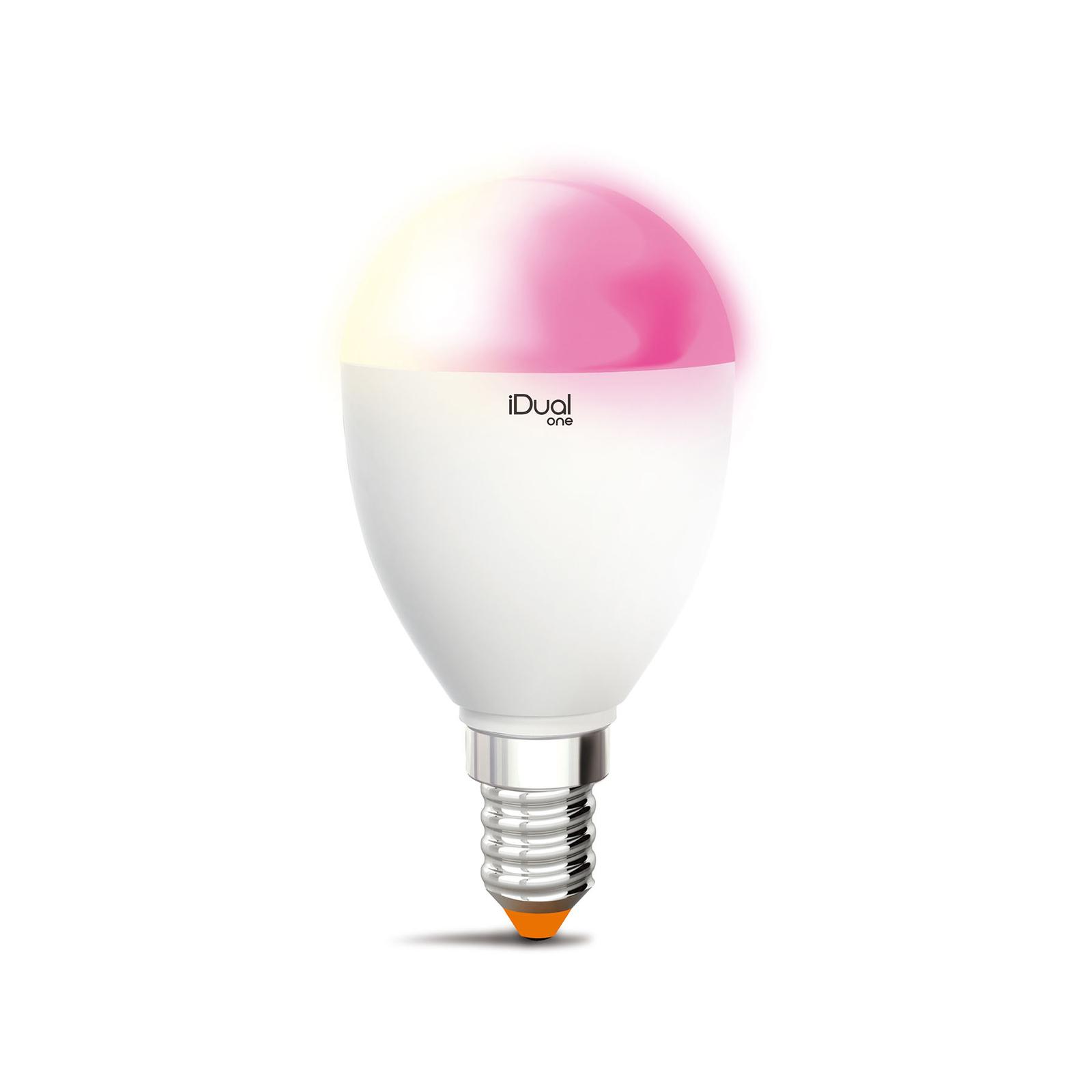 iDual One żarówka świeca LED E14 5,3W 400lm RGBW