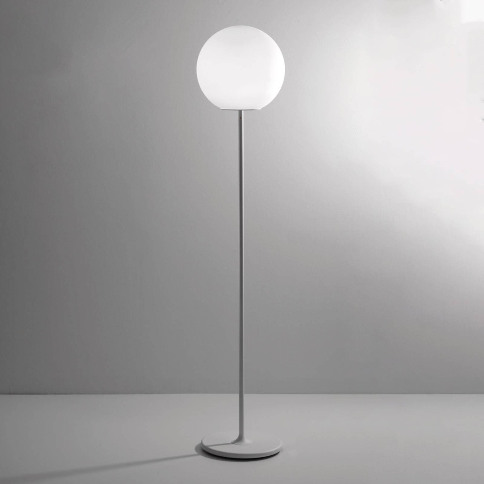 Fabbian Lumi Sfera glas-vloerlamp, Ø 35 cm