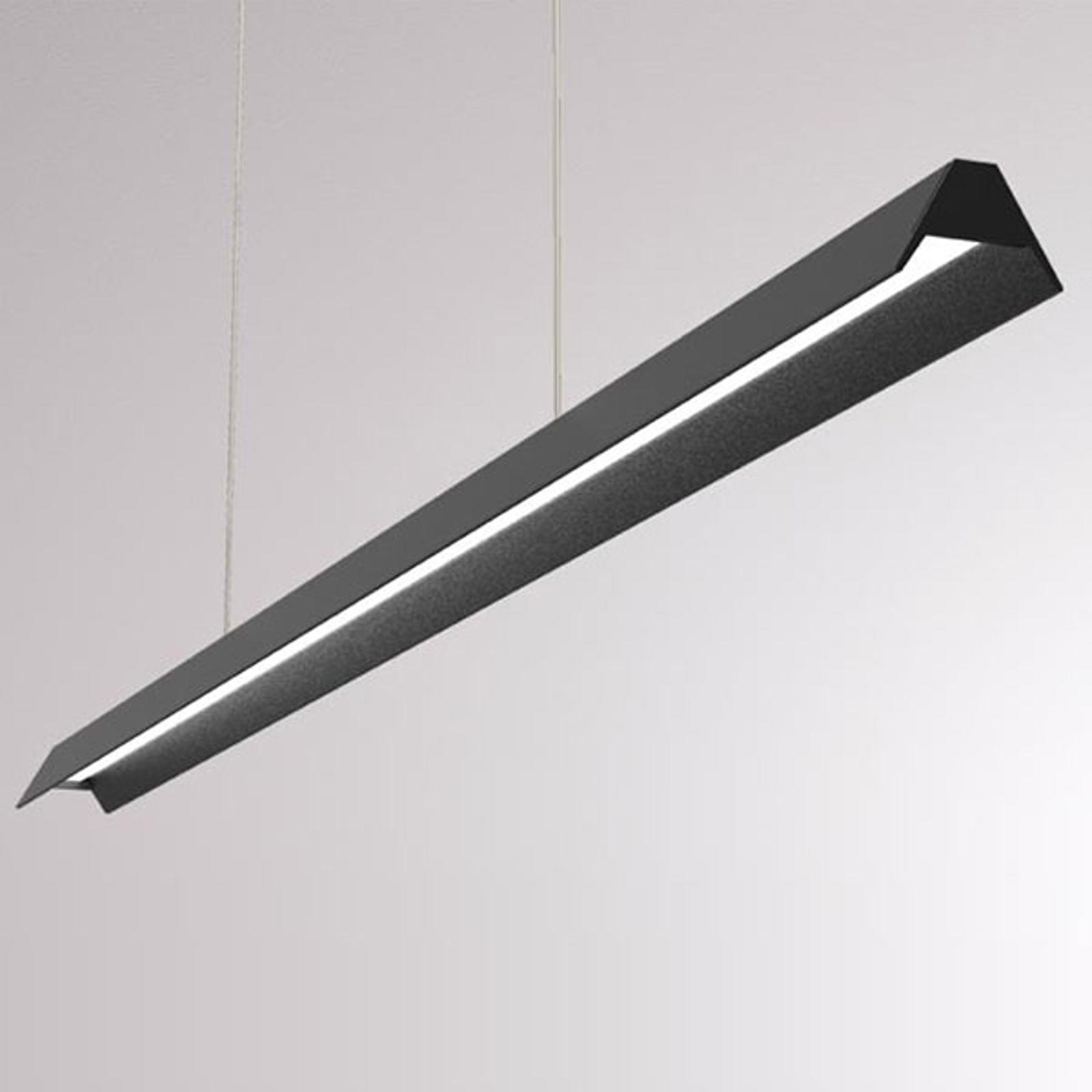 LOUM Uto LED hanglamp met metalen kap zwart