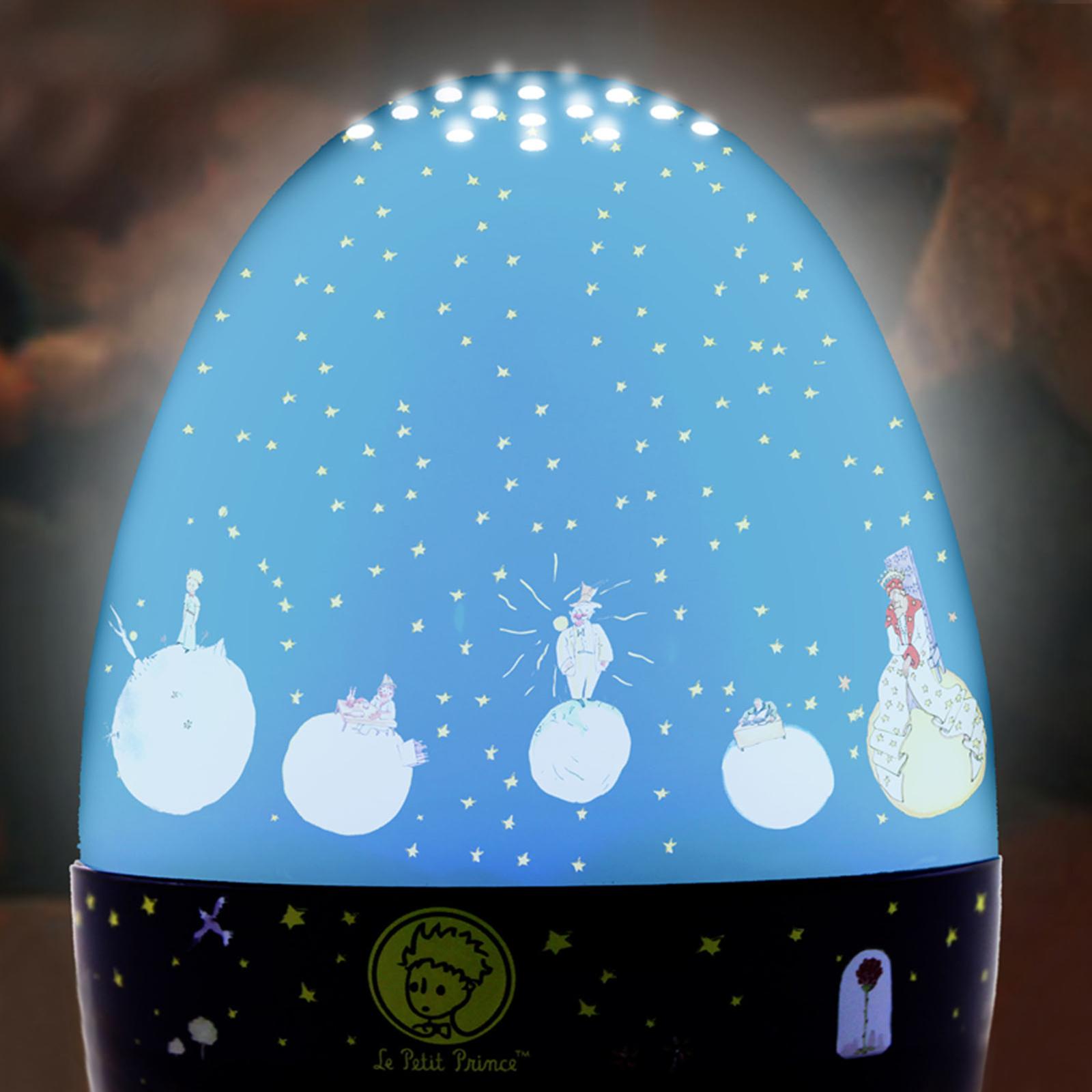 Magiczna latarnia Mały Książę, z pozytywką