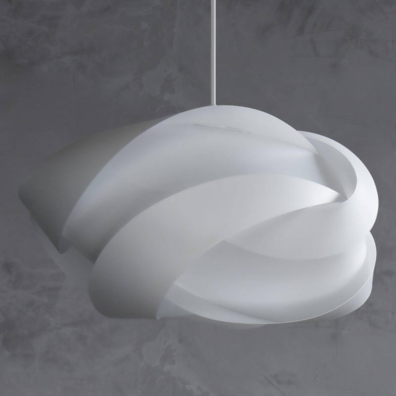 UMAGE Ribbon medium lampa wisząca biała