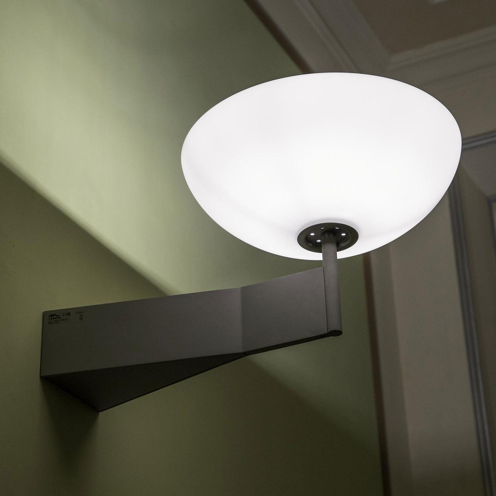 Martinelli Luce Olympic LED-Wandfluter, anthrazit