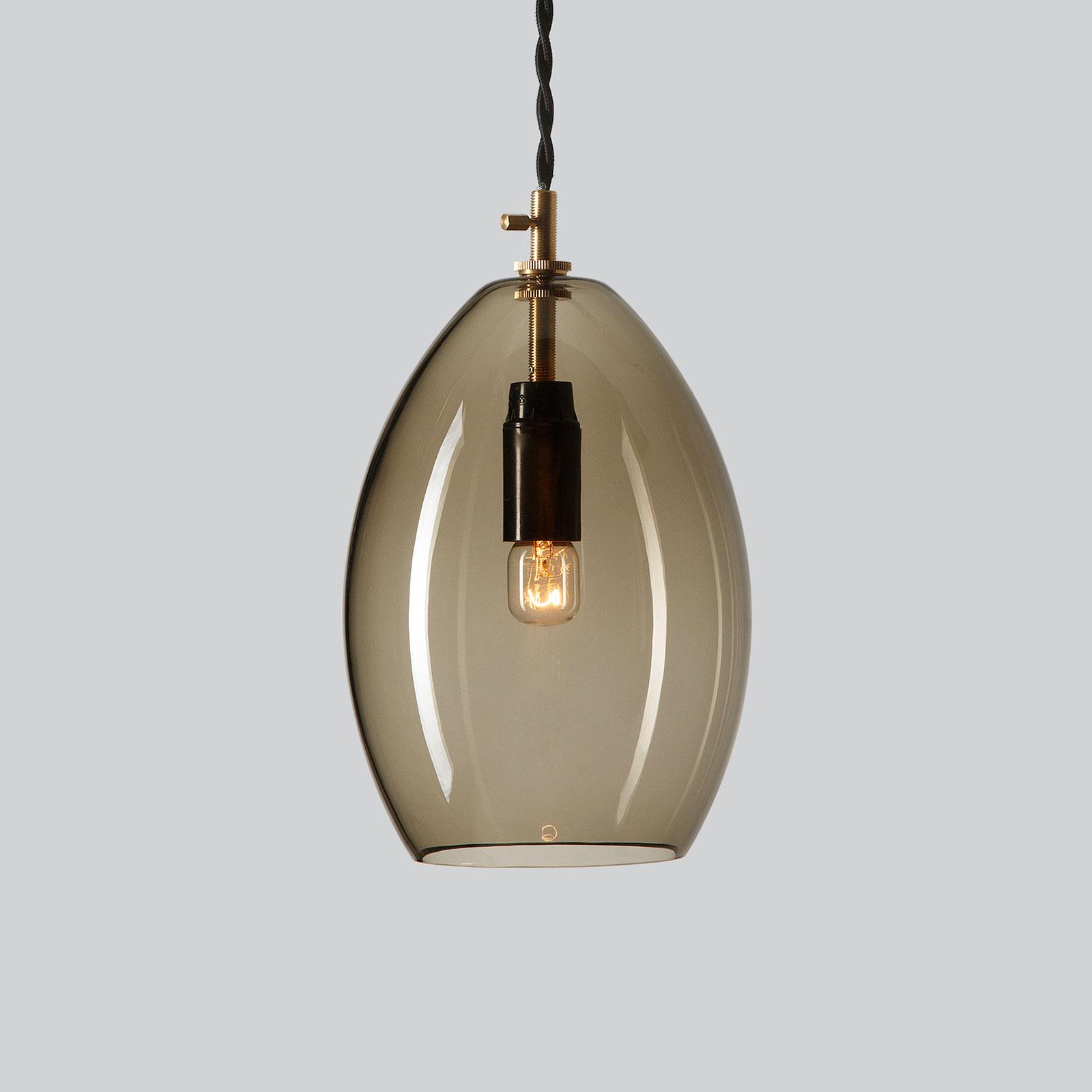 Northern Unika hanglamp rookgrijs, large