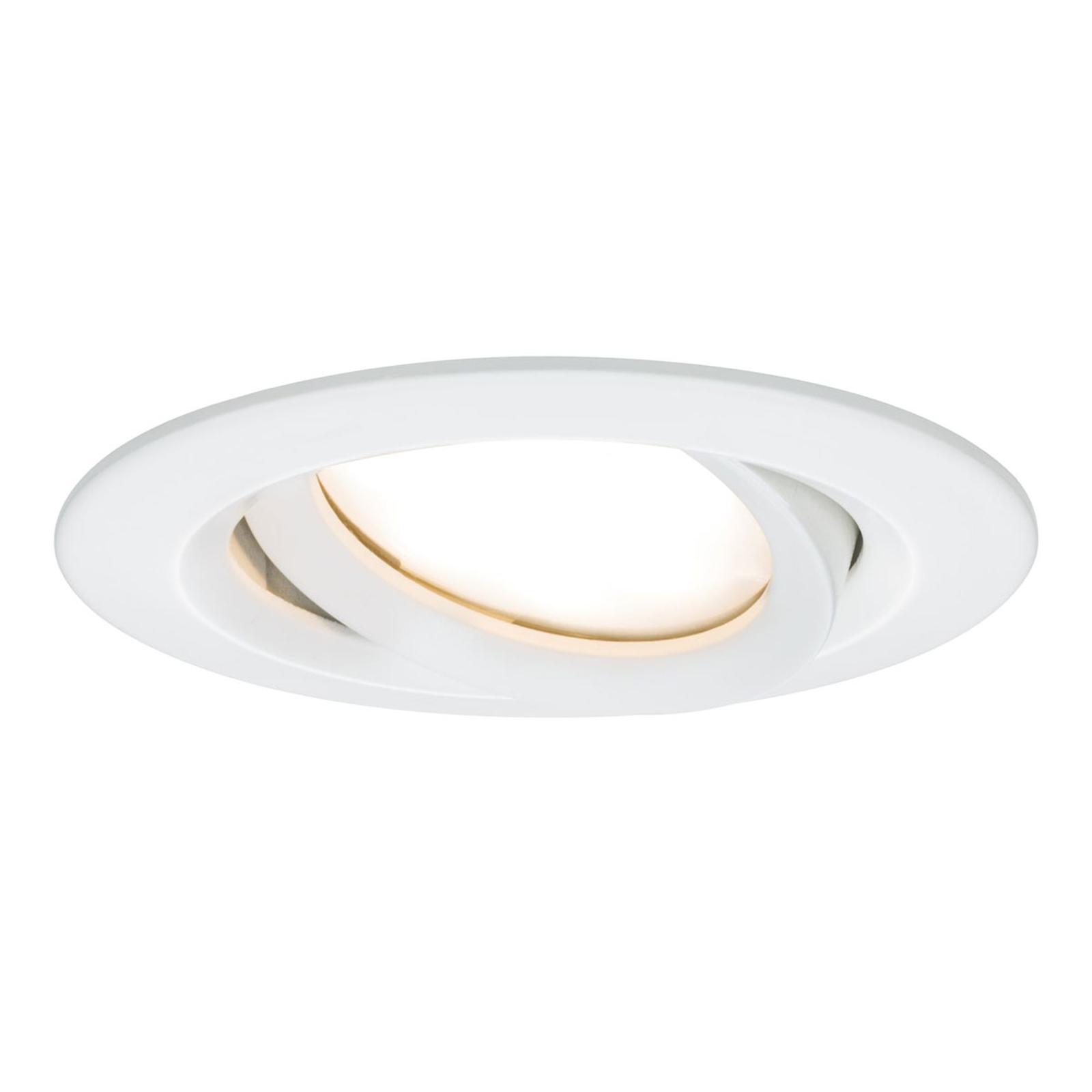 Paulmann Nova Plus LED-spot rund vit