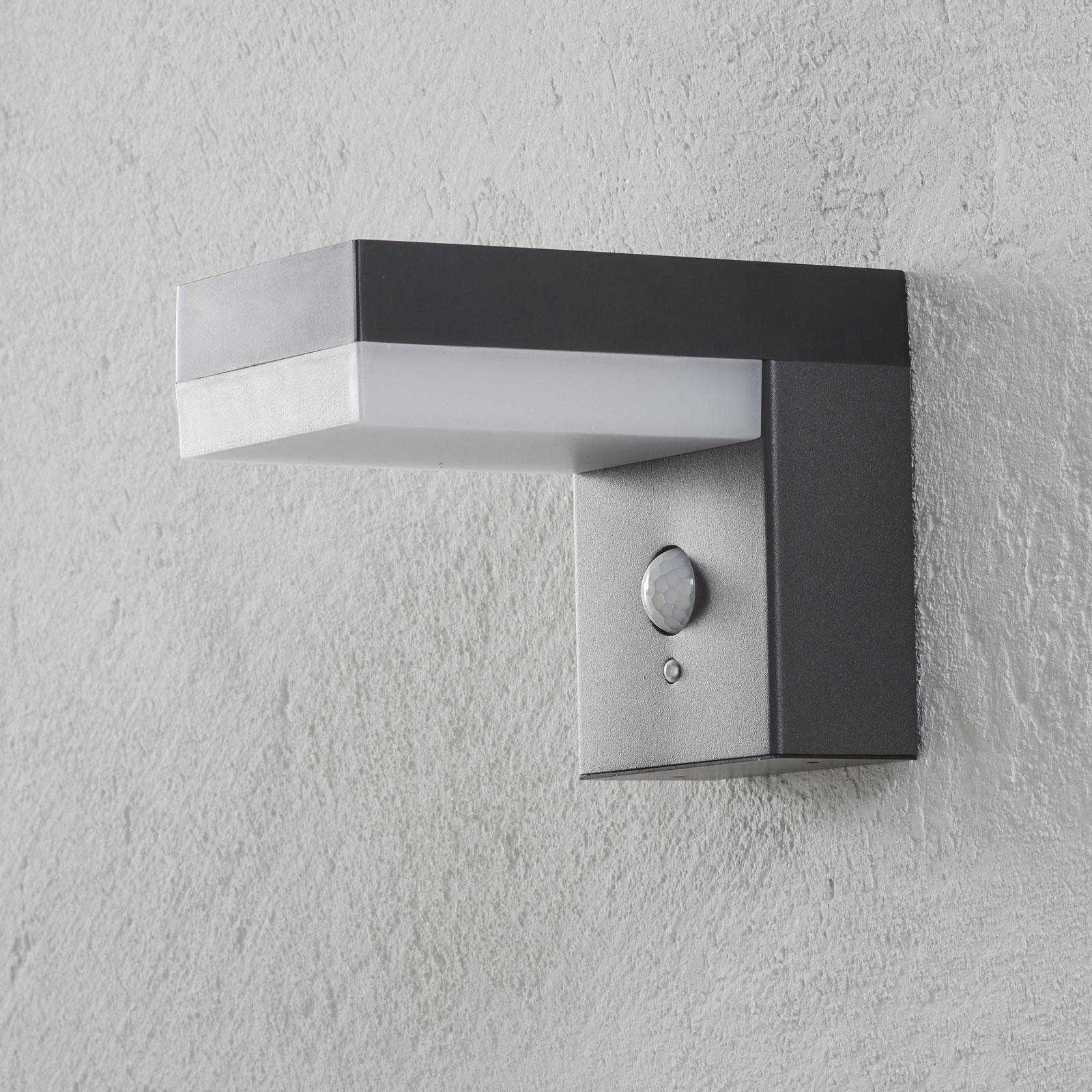 LED-Solar-Außenwandlampe Chioma mit Sensor