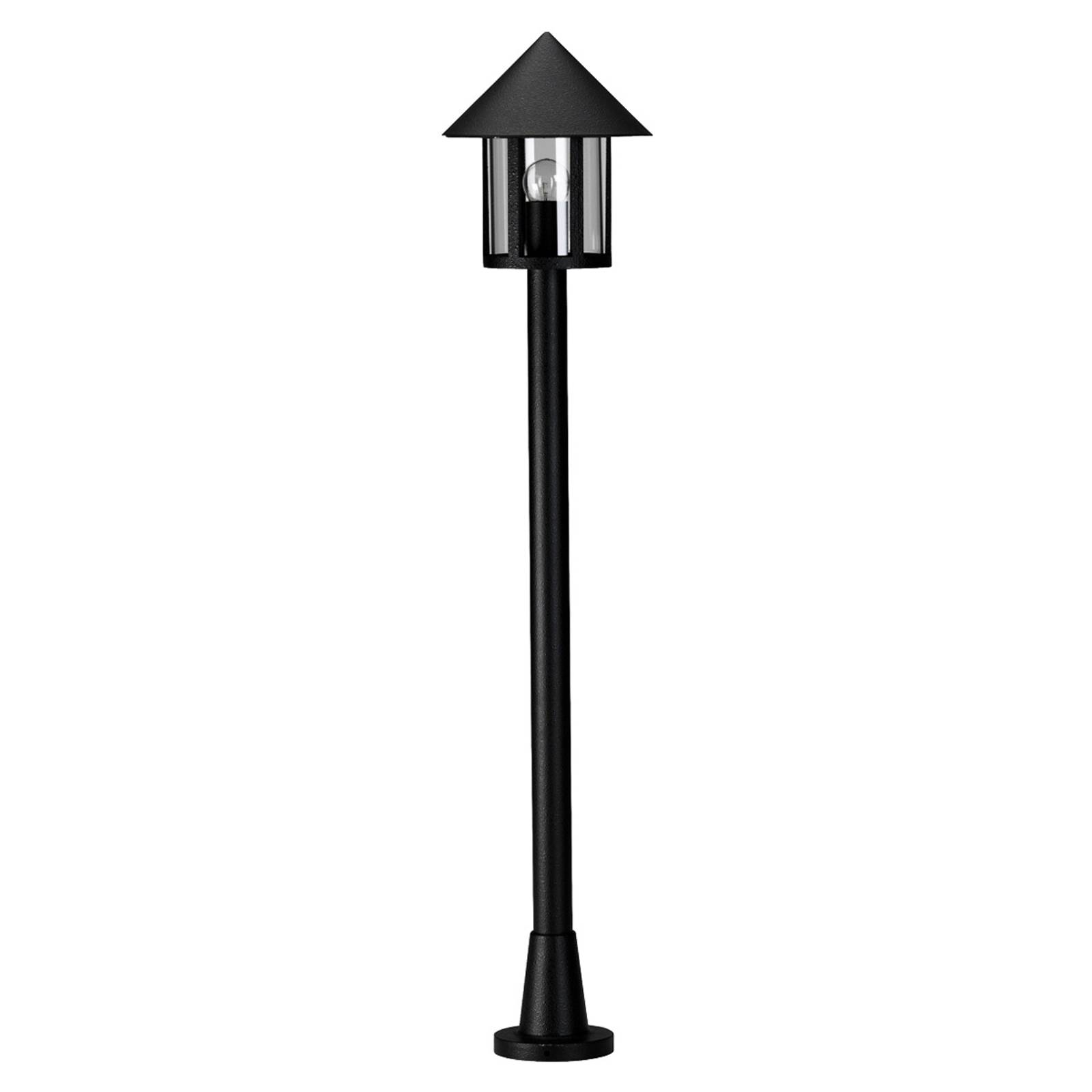 Antieke tuinpadverlichting LAMPIONE zwart
