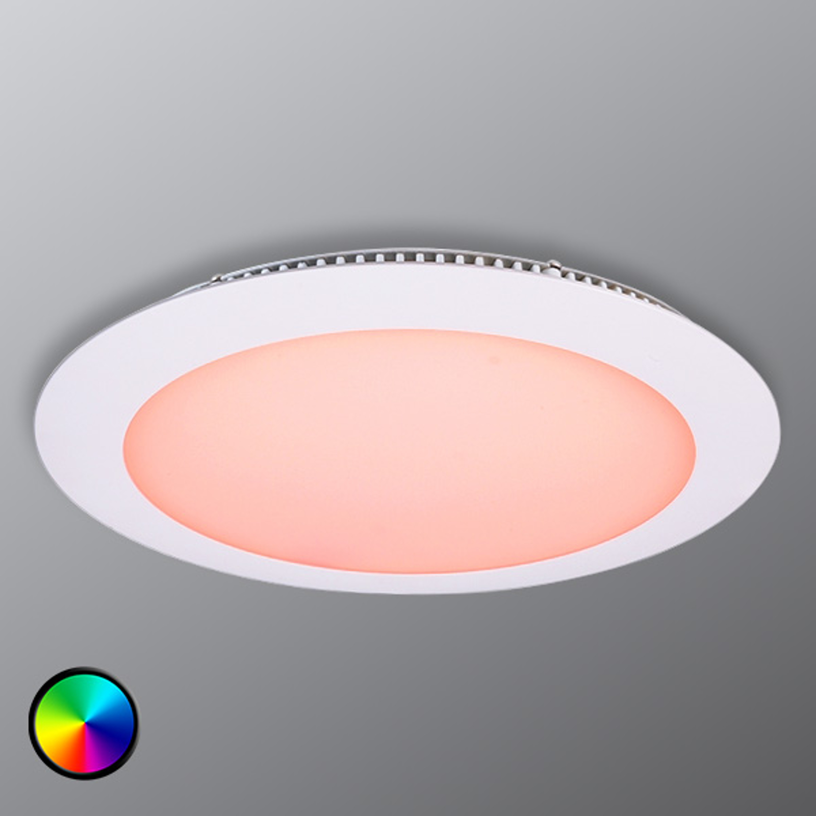 Rundes LED Panel 16 in RGB