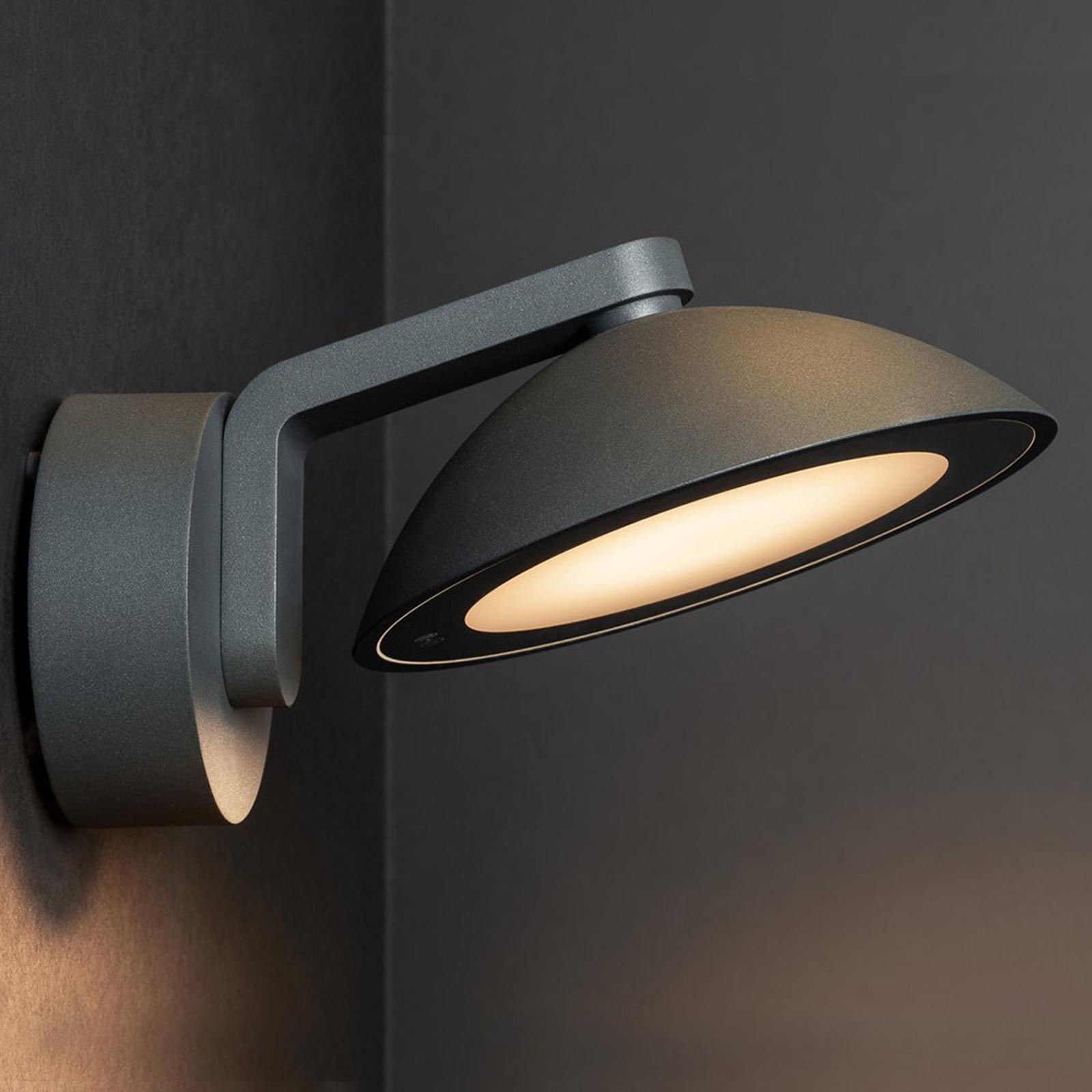 SLV Malu LED-Außenwandleuchte, rund