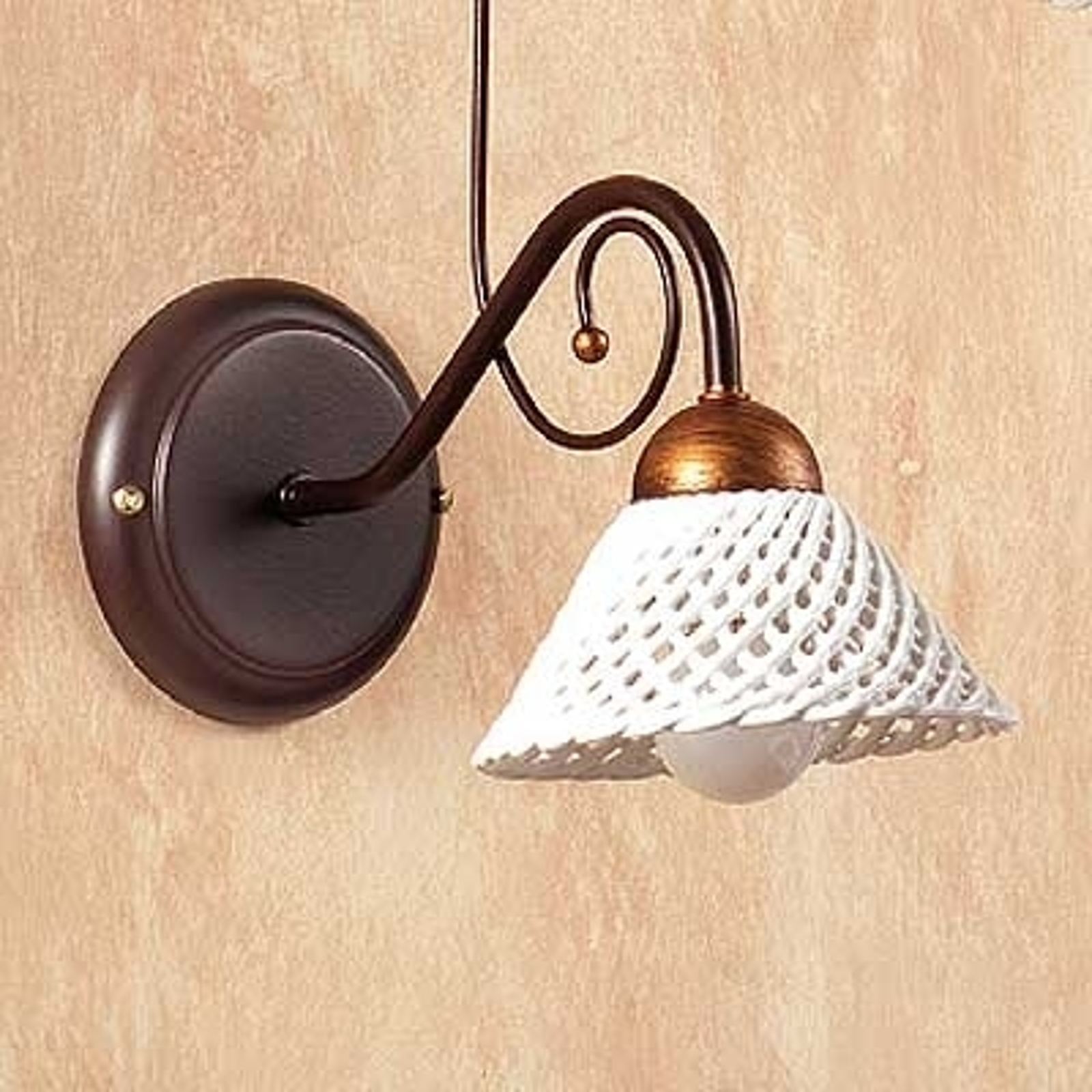 Elegante wandlamp RETINA
