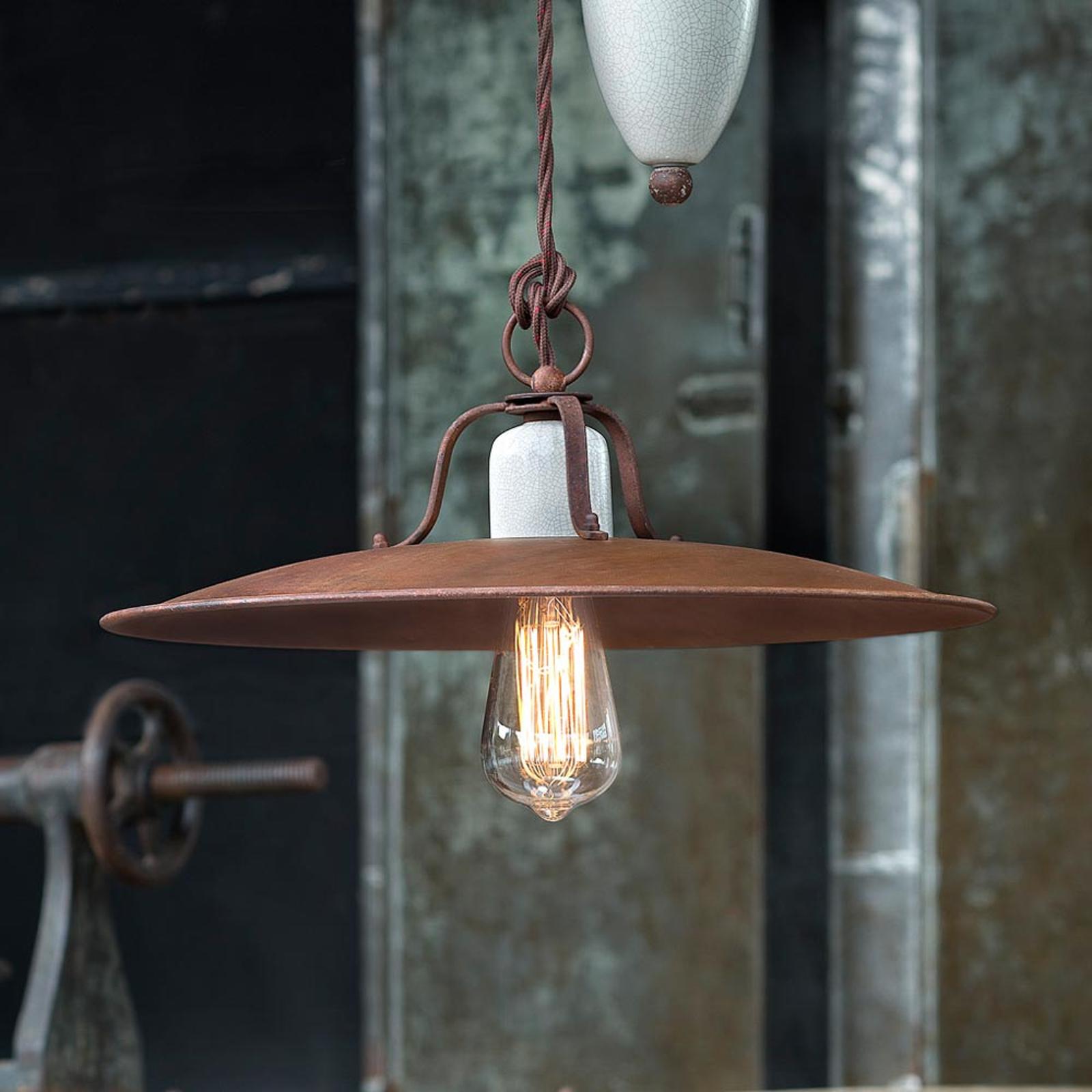 Lampa wisząca Riccardo z mechanizmem linkowym