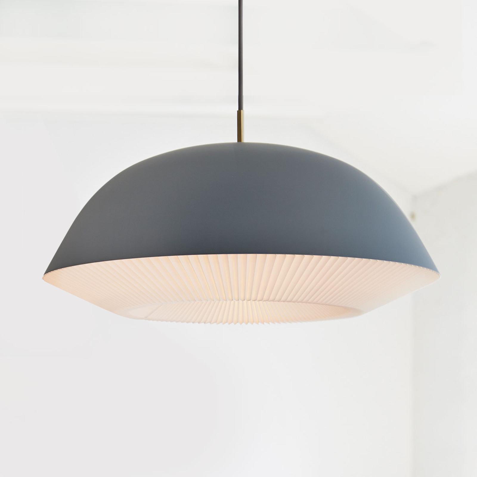 LE KLINT Caché XL - závěsné světlo v šedé
