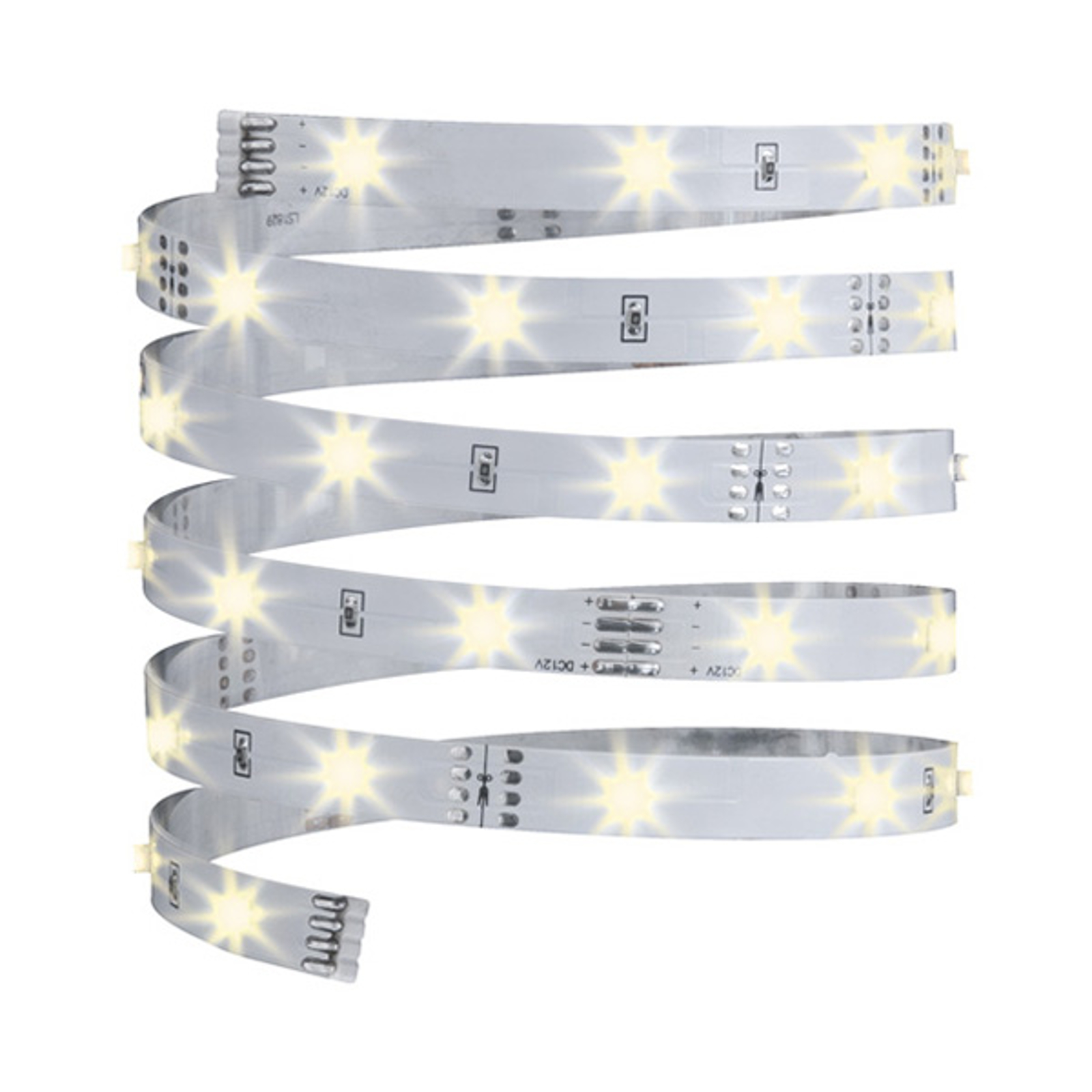 3 m lange LED strip YourLED Eco, wit, warm wit