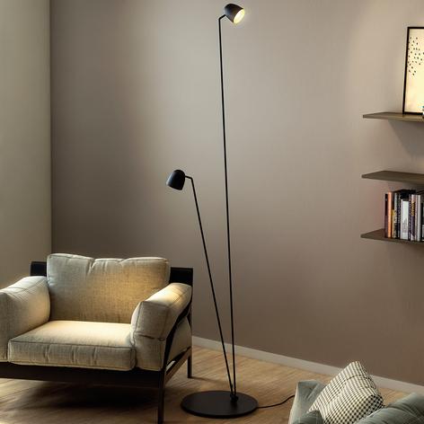 LED-gulvlampe Speers F fleksibel justerbar