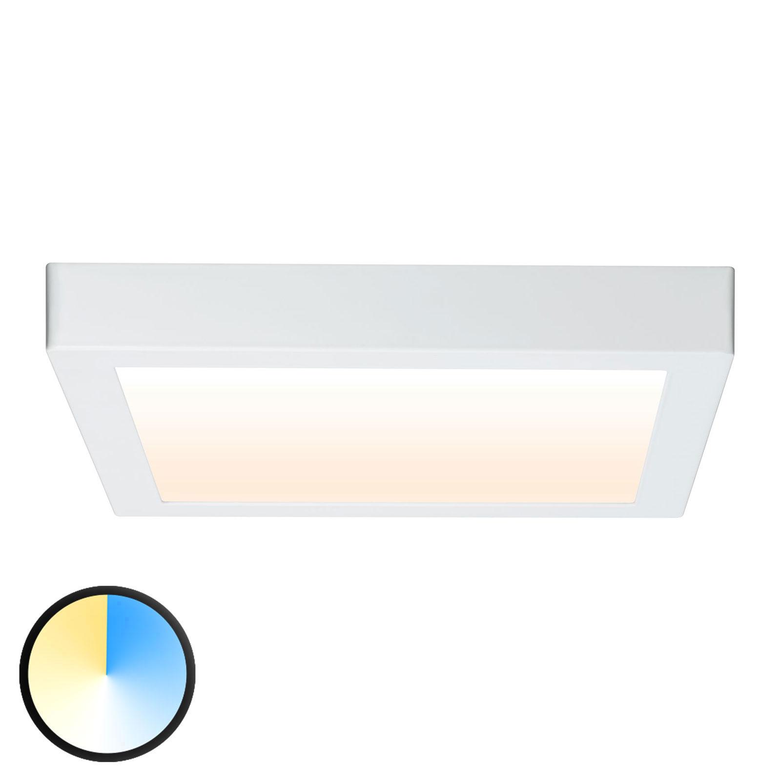 Paulmann Carpo LED plafondlamp wit 30x30cm