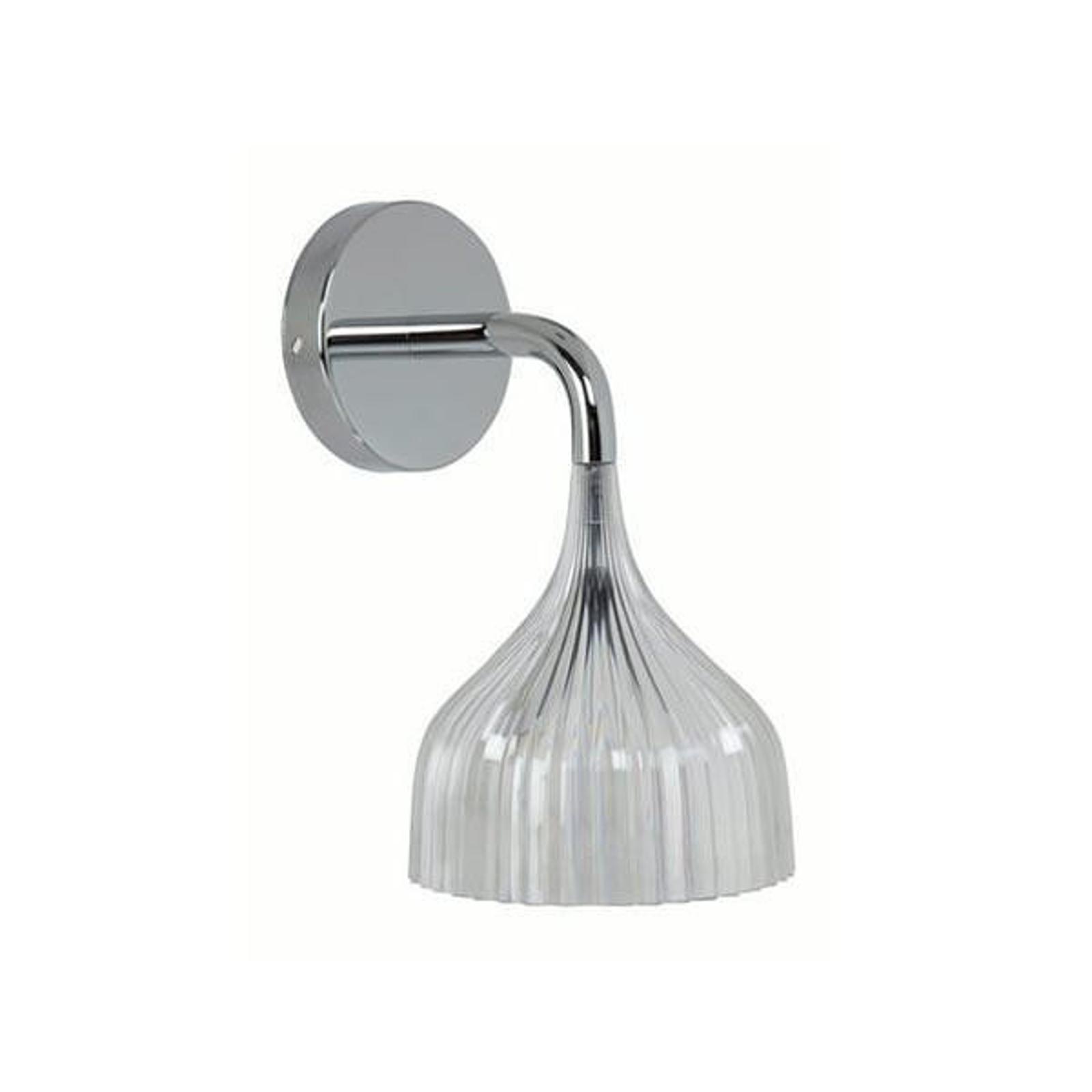Kartell É - LED-Wandleuchte, transparent