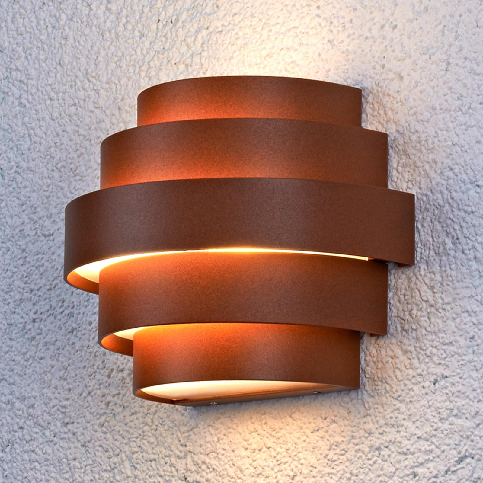 LED-væglampe Enisa udendørs