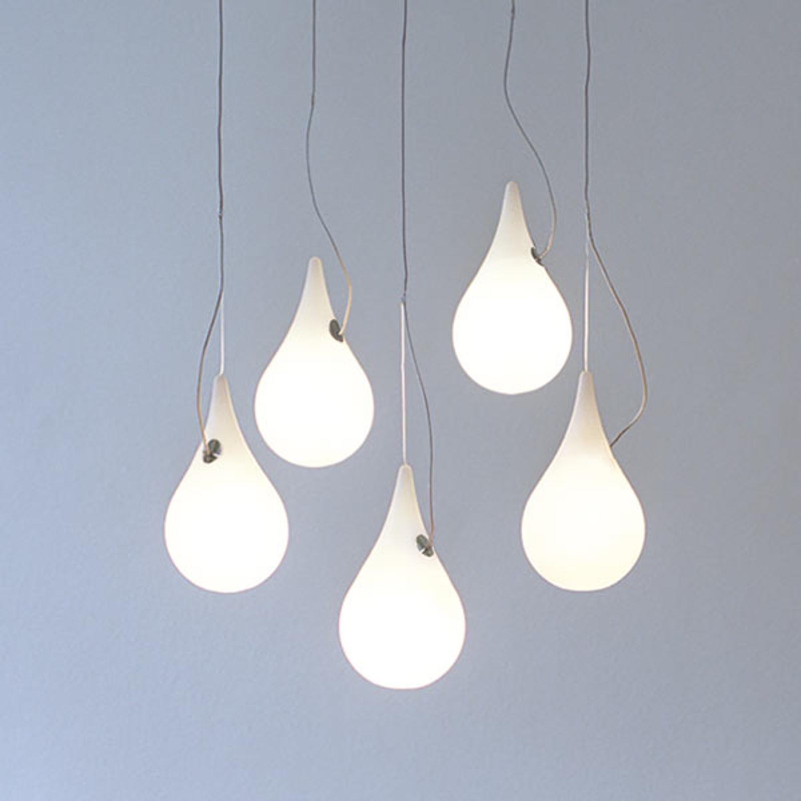 next Drop_2 XS 5 - fünfflammige LED-Hängeleuchte
