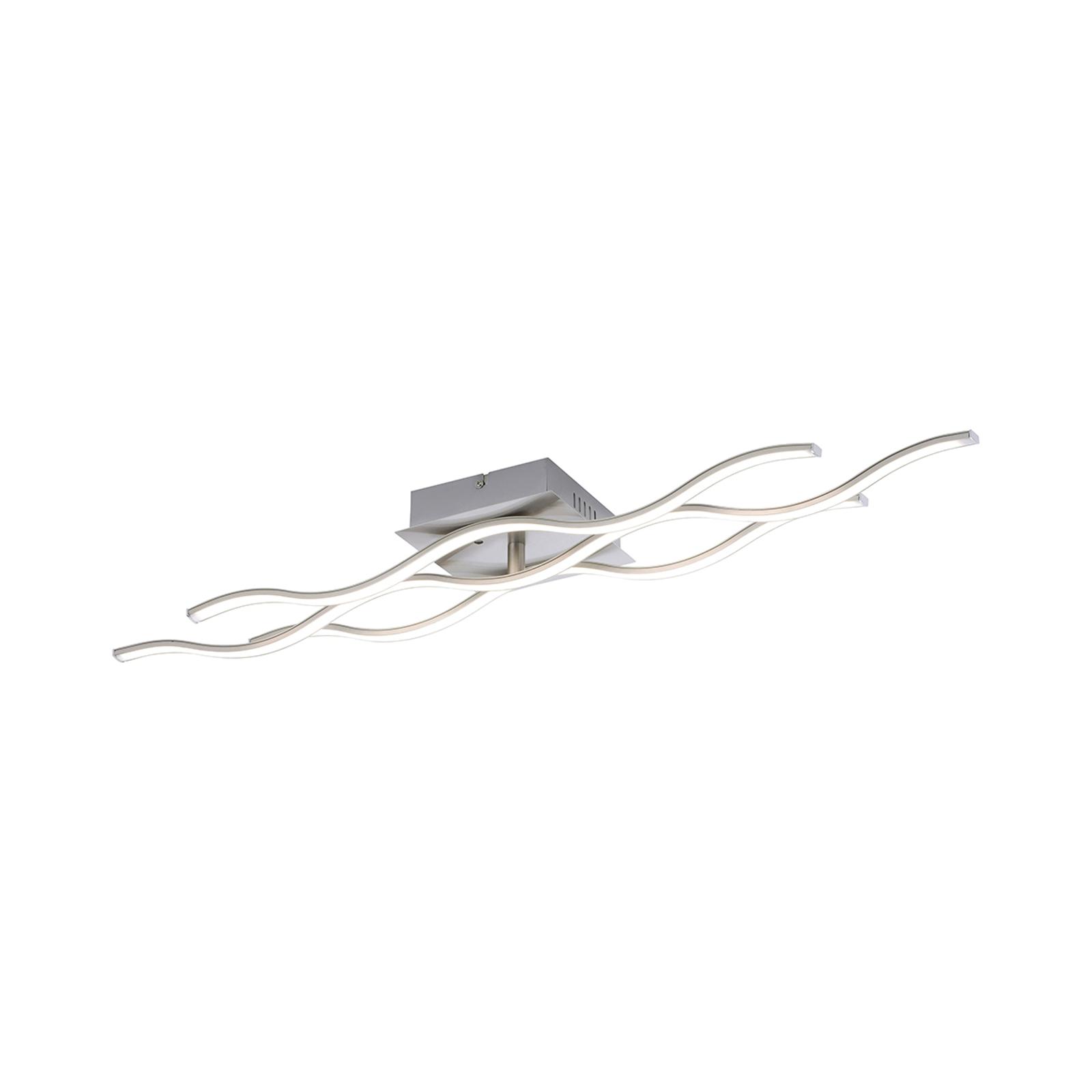 LED-Deckenleuchte Lucian mit Fernbedienung