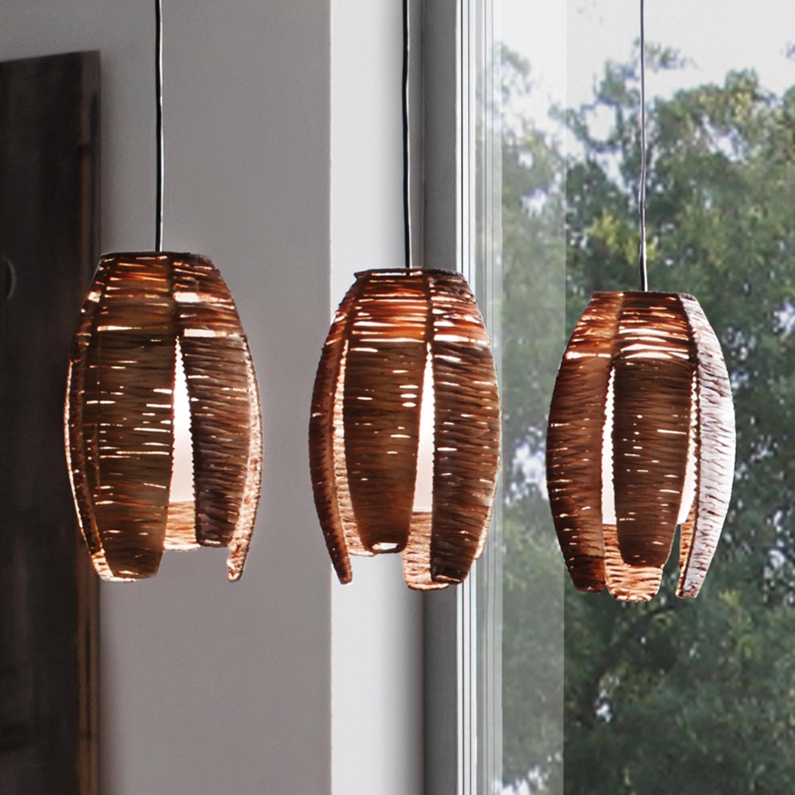 Lámpara colgante de tres llamas MONGU