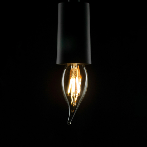 SEGULA vela LED E14 2,7W Ambient Line transparente