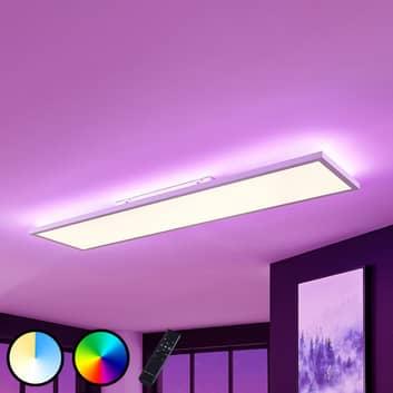 Panel LED Brenda CCT con mando, 29,5 x 119,5 cm